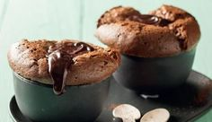 Chocolate souffle - sub sugar for xylitol Pudding Desserts, Dessert Recipes, Gallette Recipe, Chocolate Souffle, Recipe Search, Something Sweet, Baking Recipes, Delicious Desserts, Food To Make