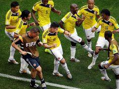 Brasil 2014: las mejores celebraciones de gol... por ahora