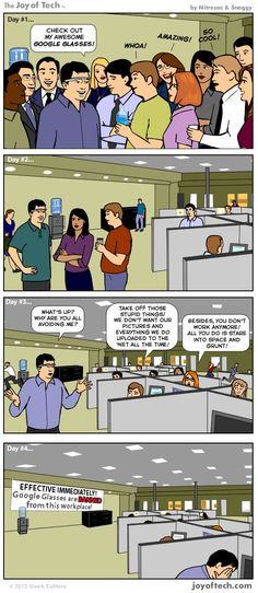 The Reality of Google Glasses