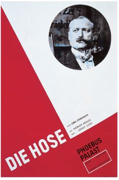 1927 Movie Poster Die Neue Typoraphie