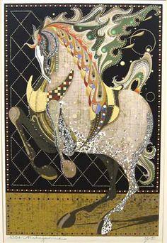 Japanese Art by the artist Tadashi Nakayama | Scriptum Inc