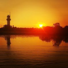 Sunset in Tanjung Piai.