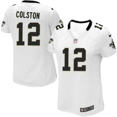 Game Womens Nike New Orleans Saints http://#12 Marques Colston White NFL Jersey $69.99