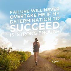 Failure is part of the journey. #MotivationMonday #OnaQuest