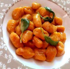 Gnocchi di zucca Pasta, Healthy Recipes, Stuffed Peppers, Vegetables, Italian Desserts, Stuffed Pepper, Healthy Eating Recipes, Vegetable Recipes, Healthy Food Recipes