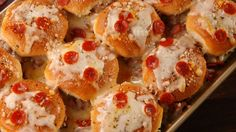 Pizza Sliders  - Delish.com