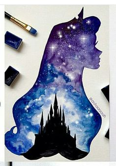 Sleeping Beauty (Princess Aurora) Artist: @aishaaaaah instagram