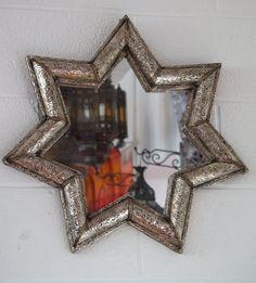 Genuine Handmade Moroccan Star Shaped Mirror | eBay