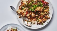 Searing the cauliflower in this recipe before marinating softens the cauliflower, which opens up the florets and creates more surface area for the marinade to stick to. If you marinate it raw, it will burn before becoming tender.