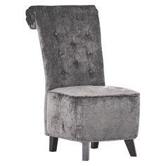 """Ihr Stuhl aus der Kollektion """"New Barock"""" von AMBIA HOME vermittelt eine tolle Ästhetik in Ihrem Wohnkonzept. Die antiken Holzfüße harmonieren perfekt mit dem Bezug aus strapazierfähigen Spezialfasern in Anthrazit. Der Polyurethanschaumkern verleiht dem Polstermöbel einen hervorragenden Sitzkomfort. Runden Sie Ihr Wohn- oder Speisezimmer mit weiteren Möbeln im angesagten Vintage-Look ab!"""