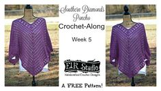 Many of you requested that I give some additional rounds to the Southern Diamonds Poncho because you needed yours a little longer. Well here ya go! I hope you'll enjoy this last part and get those projects done! Please Favorite or Queue in Ravelry! Are you new to the CAL? If you need to catch … … Continue reading →