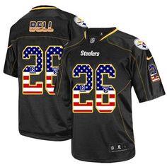 Titans Derrick Henry jersey Nike Steelers  26 Le Veon Bell Black Team Color  Men s 3aa23926f