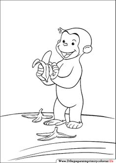 dibujos de jorge el curioso para imprimir y colorear free coloring pagesprintable