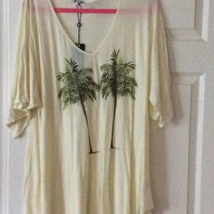 Wildfox Twin Palms Wildfox Twin Palms Tahiti Tunic. Part of a Wildfox Swim Collection. Super cute for festival season, spring and summer NWT Wildfox Tops Tunics