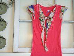 Cute, combine two shirts!! #DIY