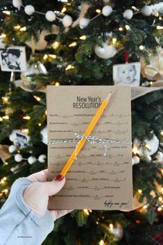 Mad Libs New Year's Resolutions
