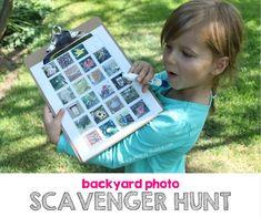 Backyard Photo Scave