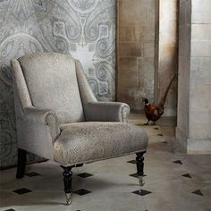 Style Library - The Premier Destination for Stylish and Quality British Design | Products | Elswick Paisley Fabric (ZELS332803) | Elswick | By Zoffany