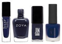 @Daisy Duck Magazine  Midnight Blues : The Most Irresistible Fall Nail Colors