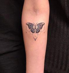 Butterfly chandelier by Man Yao