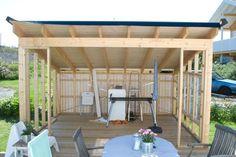 Bilderesultat for utestuer bilder Outdoor Spaces, Outdoor Living, Outdoor Decor, Contemporary Garden Rooms, Backyard Sheds, Glass House, Garden Projects, Outdoor Gardens, Gazebo