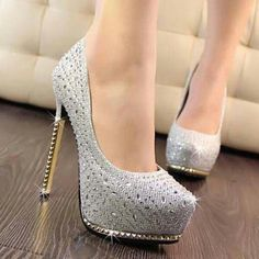 Silver, Sparkly, & Studded