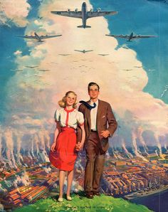 To Protect Our Way Of Living - WW II calendar print