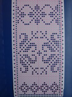 "Photo from album ""жаккарды"" on Yandex. Crochet Curtains, Fair Isle Knitting, Rugs, Cards, Crochet Ideas, Knitting And Crocheting, Cross Stitch, Doilies Crochet, Bedspreads"