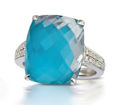 Doves Jewelry turquoise ring