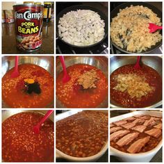 Today I am sharing my family& go-to baked beans recipe that has been in the family for decades - Anastasia& Best-Ever Baked Beans! These are a must-have at family barbecues! Simple to make, so darn good. Best Baked Beans, Baked Bean Recipes, Side Dishes For Bbq, Side Dish Recipes, Main Dishes, Baked Beans From Scratch, Great Recipes, Favorite Recipes, Delicious Recipes
