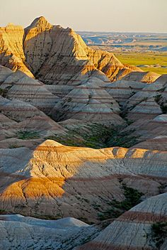 Badlands national park.. one of the coolest places I've ever seen