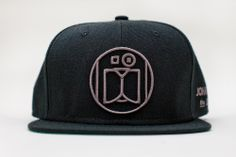"Image of JONATHON THE DOG ""LOGO"" SNAPBACK BLACK"