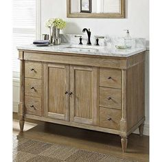 Charming Family Room Bath   Fairmont Designs Rustic Chic 48 Inch Vanity In Weathered  Oak Is Made By The Brand Fairmont Designs And Is A Member Of The Rustic  Chic ...