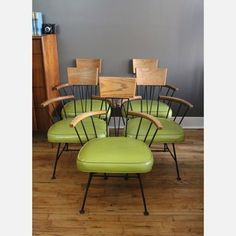 jPaul McCobb Arm Chairs Set Of 5 now featured on Fab.