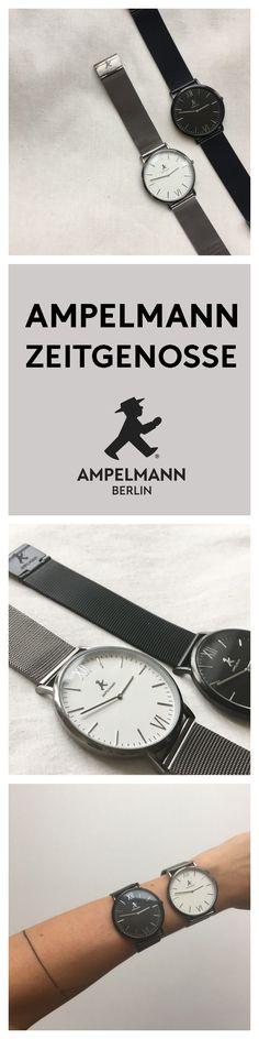 ***COMING SOON*** Unisex Armbanduhr // Unisex Watch in silver and black // AMPELMANN Lifestyle #herrenuhr #armanduhr #watch #uhr