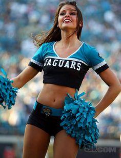 Jacksonville Jaguars Cheerleaders Jaguars Pinterest