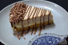 Om je vingers bij af te likken zo lekker! Deze chocolade-koffie cheesecake moet je maken!