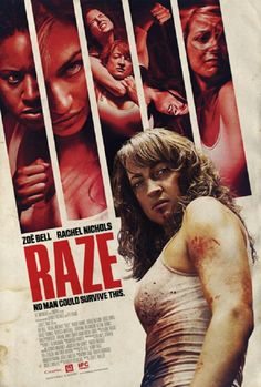 Zoe Bell Eyes You Up on the Latest New 'Raze' Poster