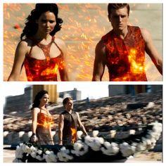 Katniss and Peeta district 12 tributes