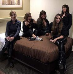 Courtney Cox, Wanda Ortiz, Kirsten Rosenberg, Linda McDonald, Nikki Stringfield