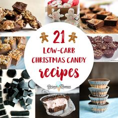 21 Low-Carb Christmas Candy Recipes
