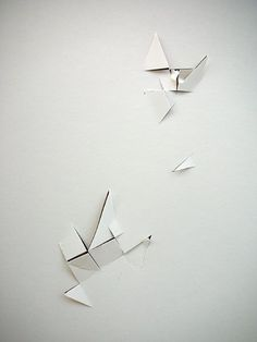 "Vjeko Sager, Antimatter, 2008, paper cutouts 12"" x 8"":"