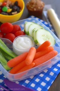 50 School Lunch Ideas {healthy and easy!}