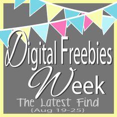 The Latest Find's Make It Create - DIY, Tutorials, Recipes, Digital Freebies: Digital Freebies Week...Day 2