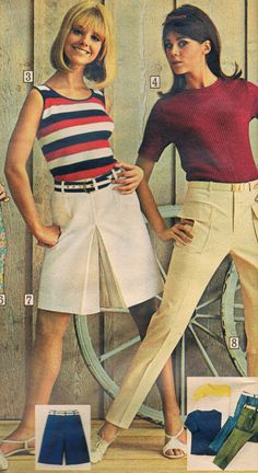 Sears catalog 1967.  Cay Sanderson and Colleen Corby
