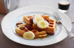 Spoil yourself with this delicious waffle recipe enough to make anyones mouth water! Visit Tesco Real Food today for more delicious recipes!