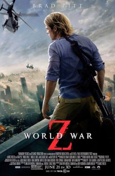 End Of The World Blog: Brad Pitt with Gorgeous Hair vs. Zombies Around th...