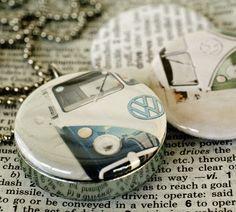 Volkswagen Bus necklace