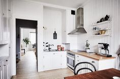 my scandinavian home: A Swedish home with inspiring ideas for tight spaces