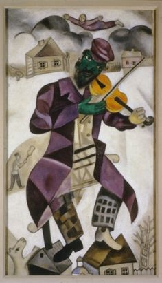 The Green Violinist - Marc Chagall, 1923-24 Cave to Canvas